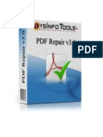 Advanced PDF Repair Software