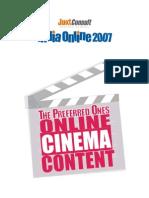 JuxtConsult India Online 2007 Online Cinema Content Report