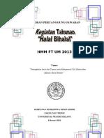 PROPOSAL Halal Bihalal