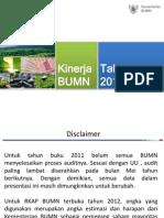Kinerja BUMN 2011-2012