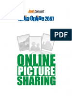 JuxtConsult India Online 2007 Online Picture Sharing Report