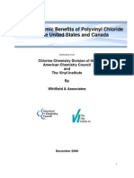 The Economic Benefits of Polyvinyl Chloride in the United States and Canada