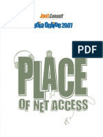 JuxtConsult India Online 2007 Place of Internet Access Report