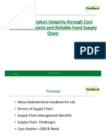 Supply Chain of Foodland