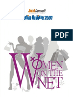 JuxtConsult India Online 2007 Women on Net Report