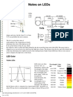 Gizmology Notes on Leds 2006