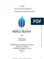"""SUPPLY CHAIN MANAGEMENT """"Cycle Stock,Safety Stock and Pipeline Inventory"""