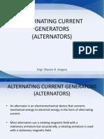 Alternating Current Generators