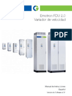 Emotron FDU2-0 Manual 01-5325-04r1 ES