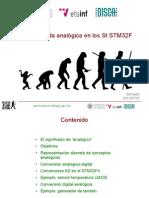 Entrada Eixida Analogica STM32F