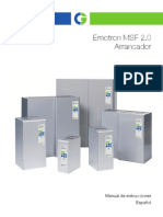 CG Emotron MSF 2-0 Instruction Manual 01-5924-04r0 ES