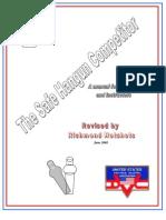 Safe Handgun Competitor USPSA IPSC