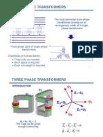 Three Phase Transformers