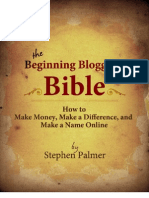Blogging Bible