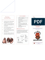brochure on fungi