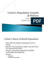 China Population and Growth Policies