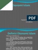 persentasi sistem ekonomi islam