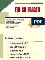 5 Exercitii Cu Fractii