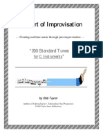 Real Book) 200 Jazz Standards Tunes (Chord Progressions For C Instruments).pdf
