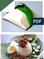 nasi lemak bungkus