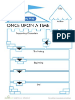 Fairy Tale Story Map Worksheet (1)