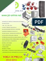 Tabelaprecosjsl2012-2013 Pt Web