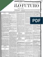 El Siglo futuro. 2-1-1884, n.º 2.635