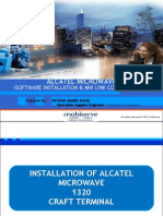 Alcatel MW Software Installation & Commissioning