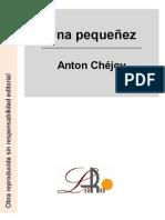 Chejov, Anton - Una pequeñez