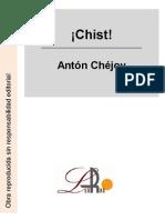 Chejov, Anton - ¡Chist!