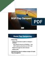 BGP FLAP DAMPENING