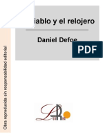 Defoe, Daniel - El Diablo y El Relojero