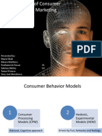 Various Models of Consumer Behaviour