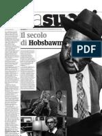 Eric J. Hobsbawm, Lo Storico Del Jazz - Alias de Il Manifesto 23.02.2013