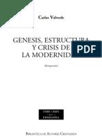 La Modernidad Carlos Valverde