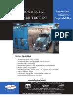 Environmental Chamber Testing Truck
