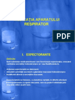 Farmacoterapie Curs 4 Aparat Respirator