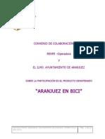 Convenio Aranjuez en Bici Ayto