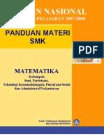 Matematika Seni, Pariwisata Rmh Tg, Peksos, & Admin