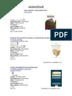 Libros Alma Cena Je y Logistic A