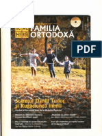 Familia Ortodoxa-NOV 2012-Staretul Daniil Tudor Rugaciunea Inimii