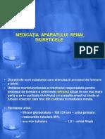 Farmacoterapie Curs 8 Diuretice
