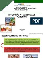 Aula 01- Introdução à tecnologia de alimentos