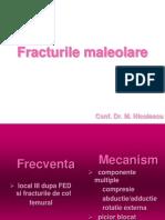 Fracturile Maleolare