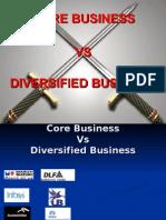 Core vs Diversified Business