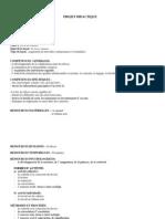 Projet Didactique - V