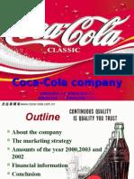Marketing Strategy in Coca-cola