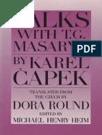 Capek - Talks With Masaryk