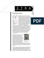 A Brief History of Petra