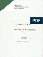(Cours+TD) Comptabilité de Société
